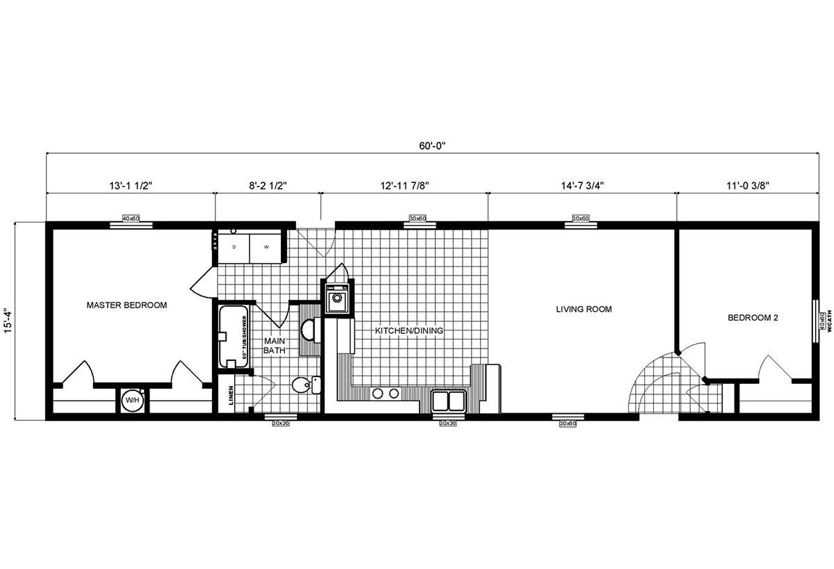 Single-Section Homes - GH-16-491