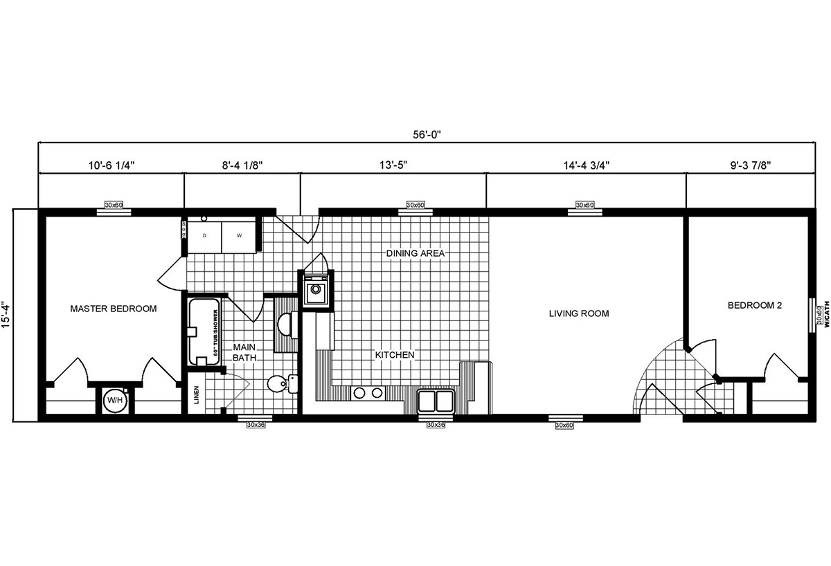 Single-Section Homes - GH-16-490