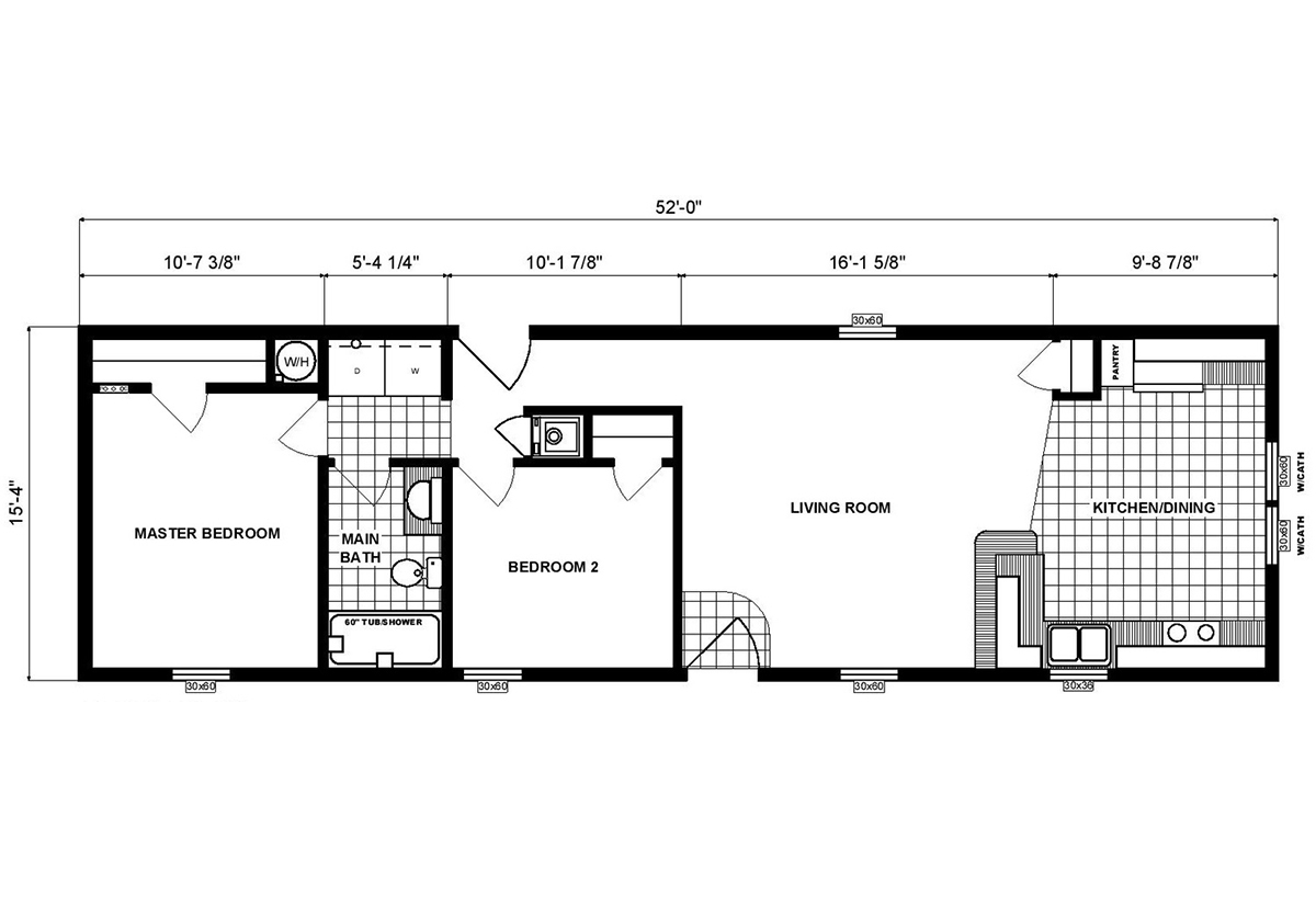 Single-Section Homes - G-16-575