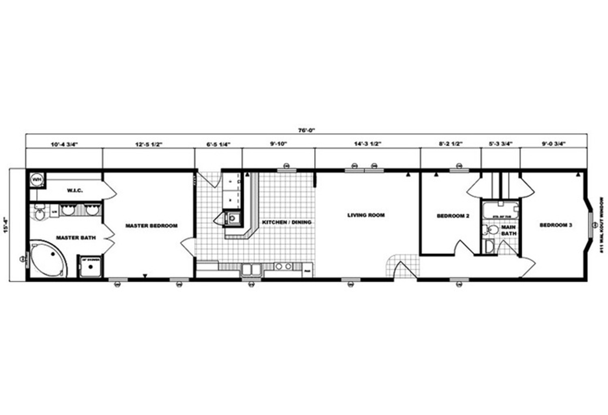 Single-Section Homes - G-16-551
