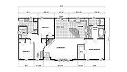 Ranch Homes G-1799 Layout