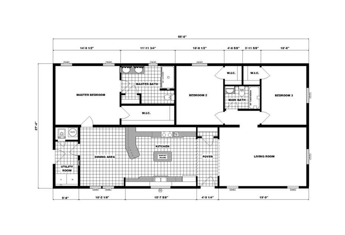 Ranch Homes - G-3457