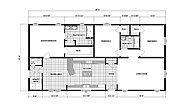 Ranch Homes G-3457 Layout