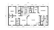 Ranch Homes G-3463 Layout