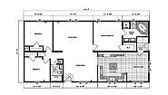 Ranch Homes G-1970 Layout
