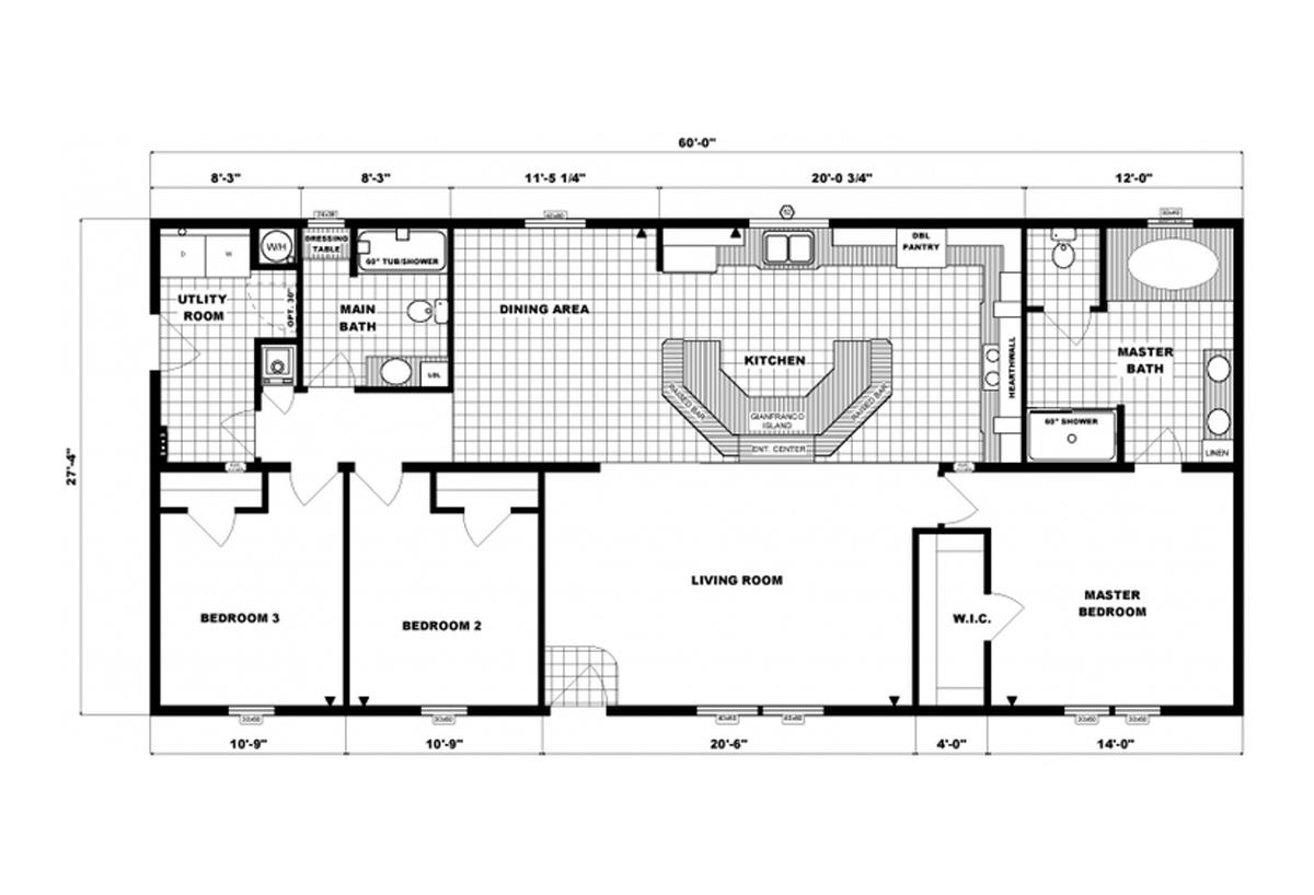 Ranch Homes - G-3557