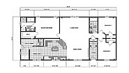 Ranch Homes G-1941 Layout