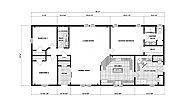 Ranch Homes G-1891 Layout