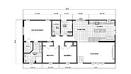 Ranch Homes NETR G-3467 Layout