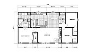 Ranch Homes GH-1788 Layout