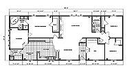 Ranch Homes G-2053 Layout