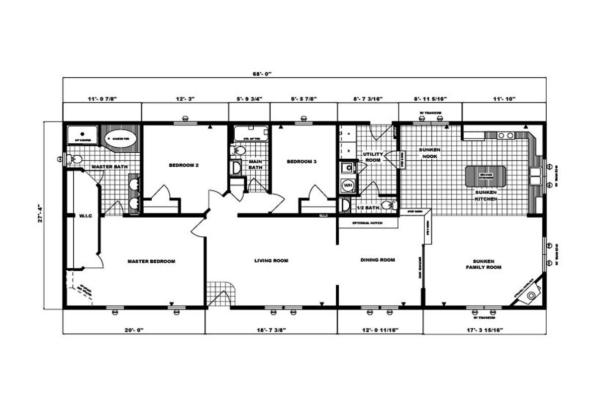 Ranch Homes - G-2025