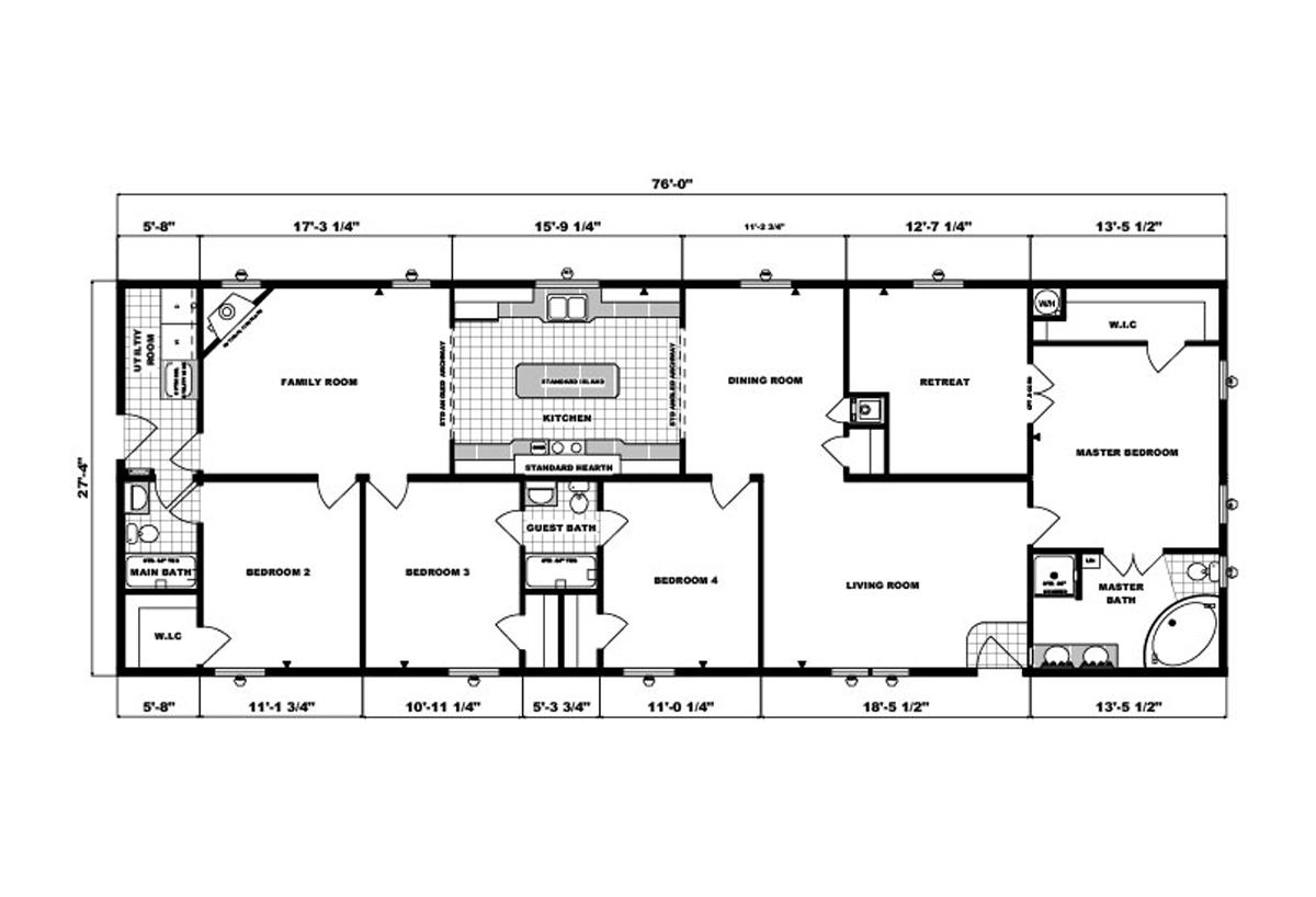 Ranch Homes - G-2068