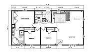 Ranch Homes G-232 Layout
