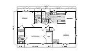 Ranch Homes G-214 Layout