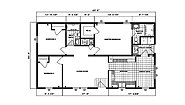 Ranch Homes G-212 Layout