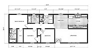 Ranch Homes GH-137 Layout