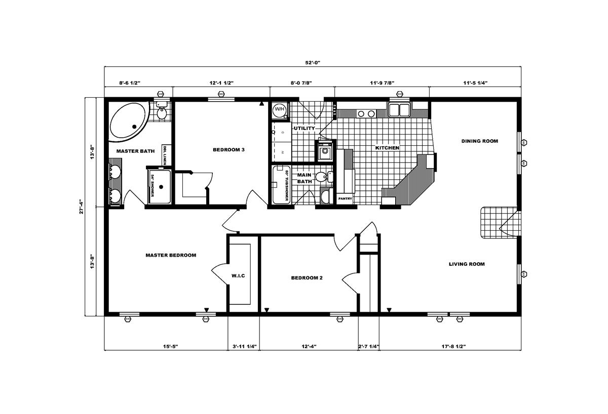 Community Homes G-1780 Layout
