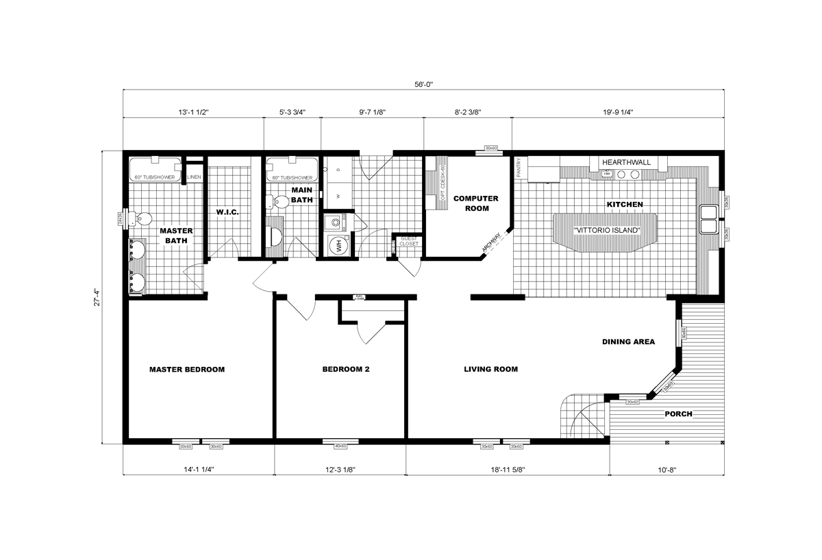 Community Homes G-3459 Layout