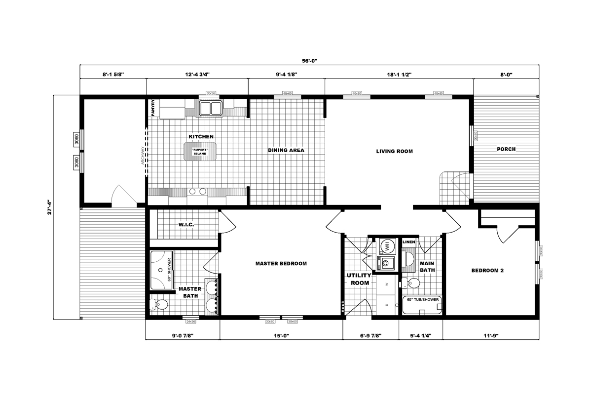 Community Homes G-3460 Layout
