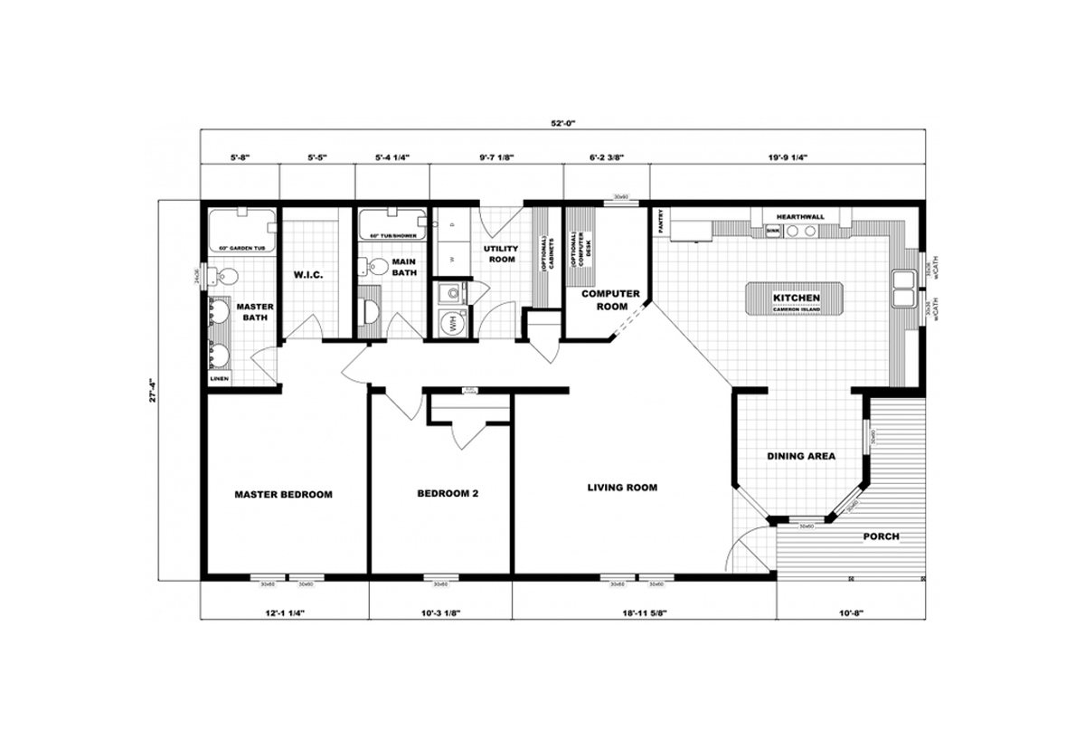 Community Homes G-3357 Layout