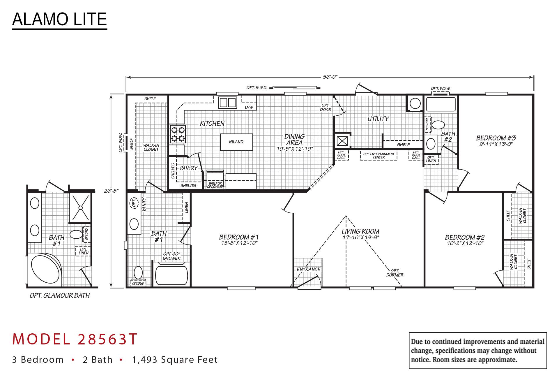Alamo Lite Multi-Section - AL-28563T