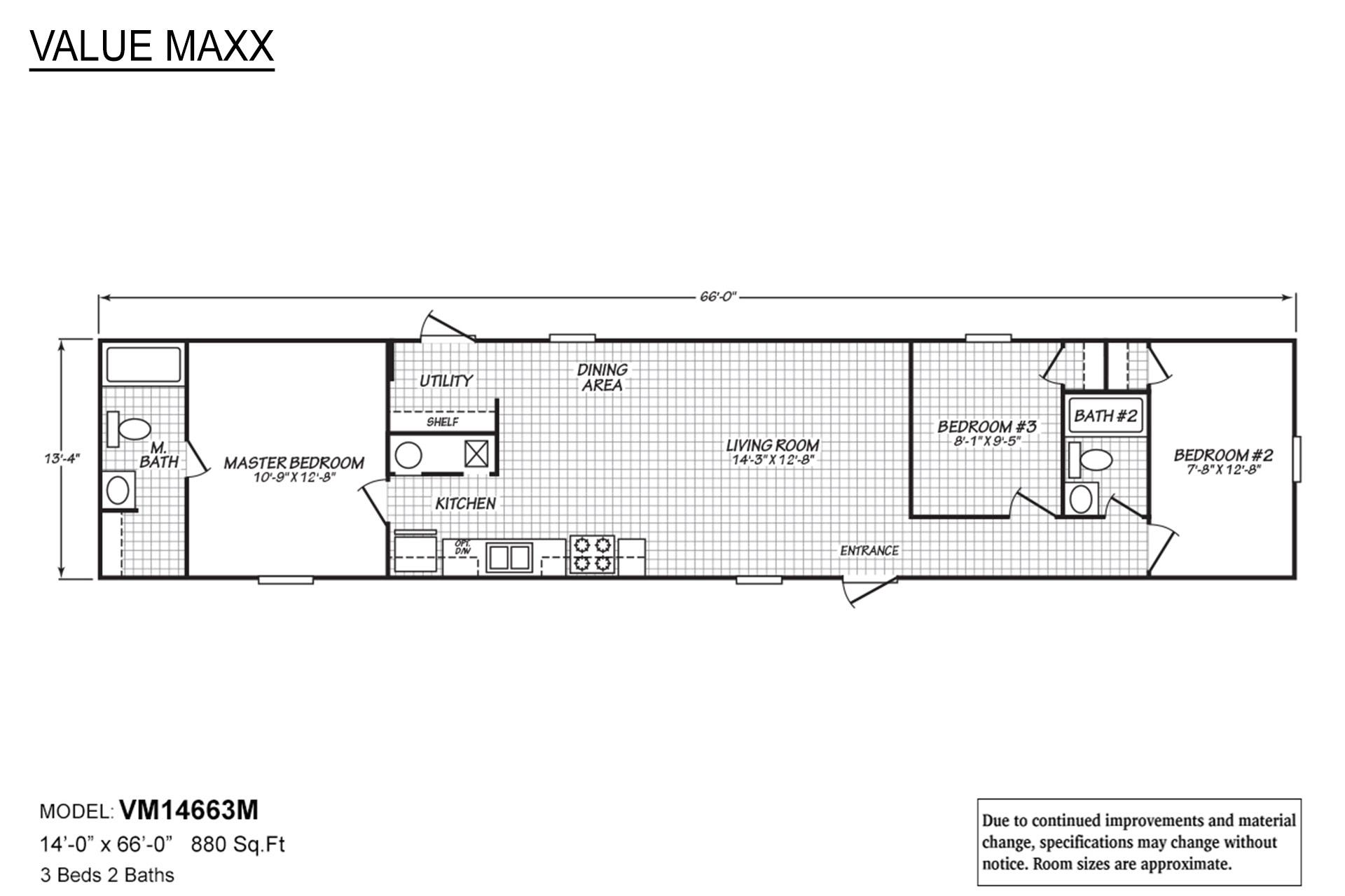 Value Maxx VM-14663M Layout
