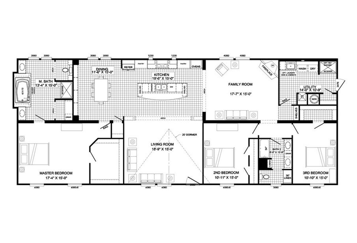 Buccaneer The Clint By Buccaneer Homes