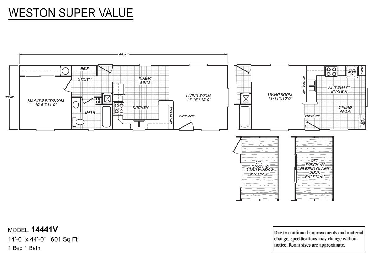 Weston Super Value - 14441V