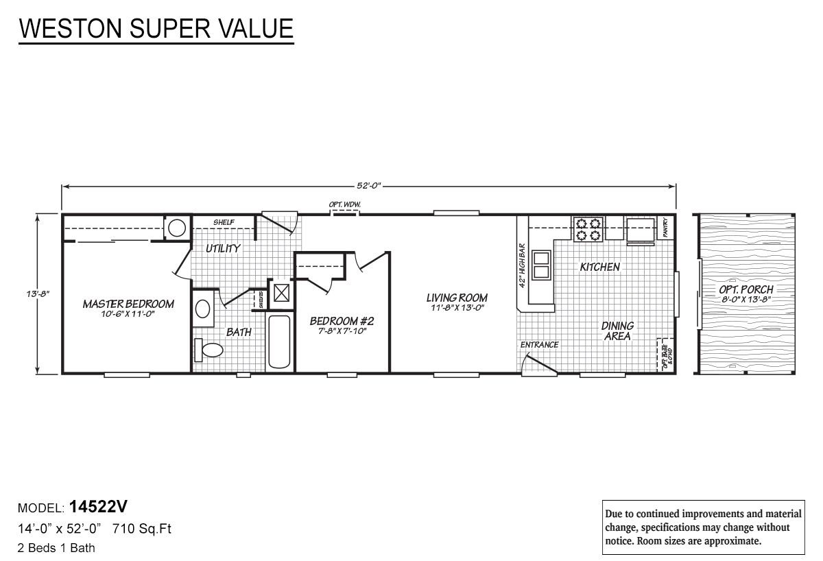 Weston Super Value - 14522V