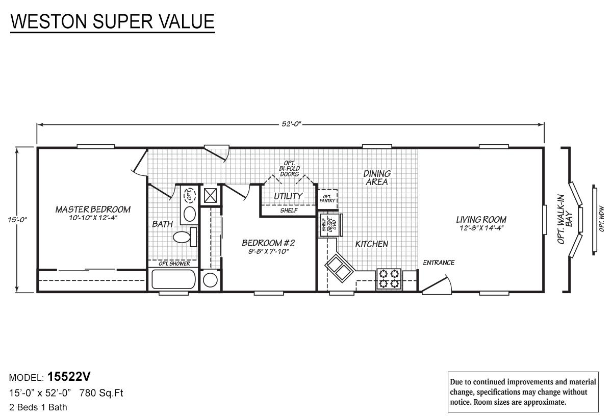 Weston Super Value - 15522V