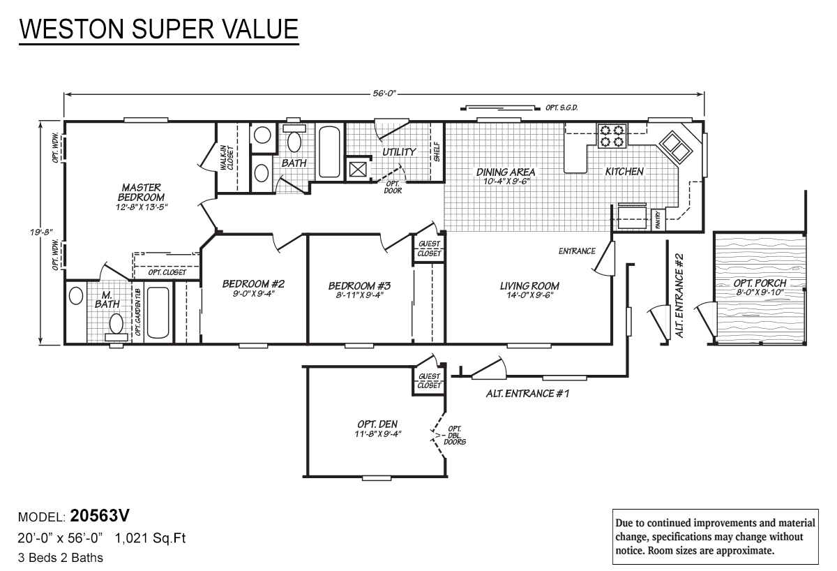 Weston Super Value - 20563V