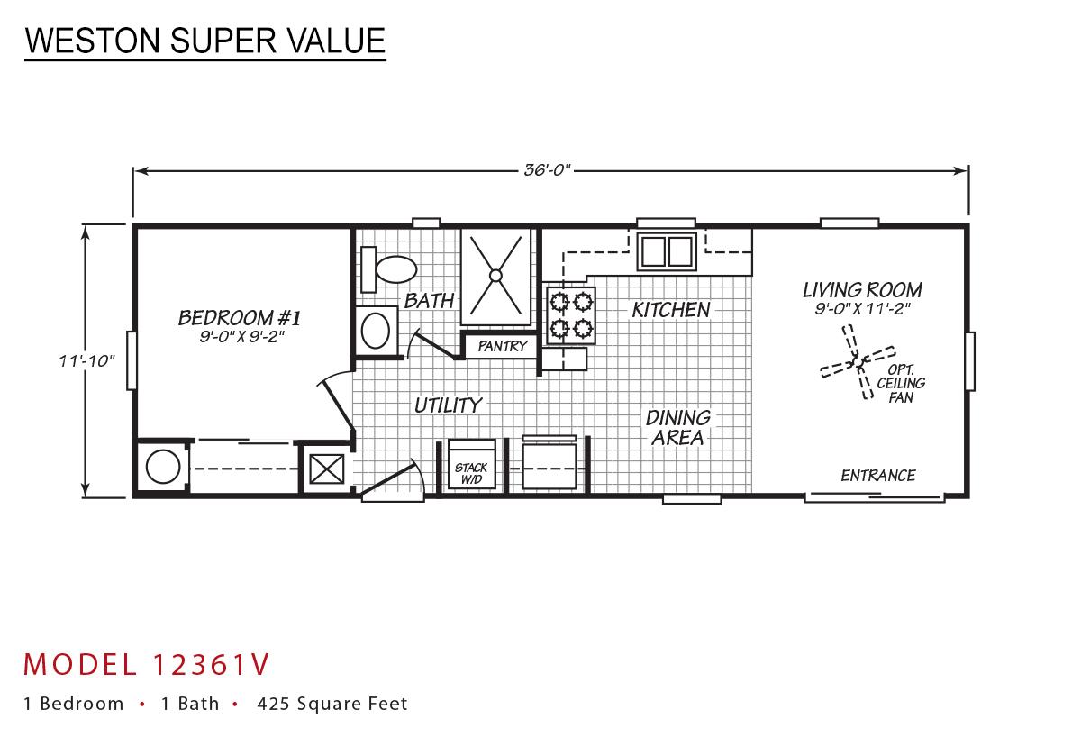 Weston Super Value - 12361V