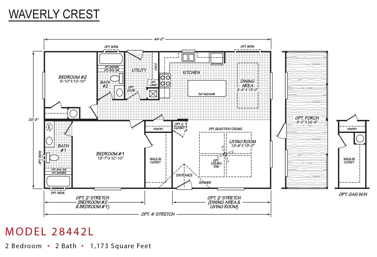 Waverly Crest 28442L Layout