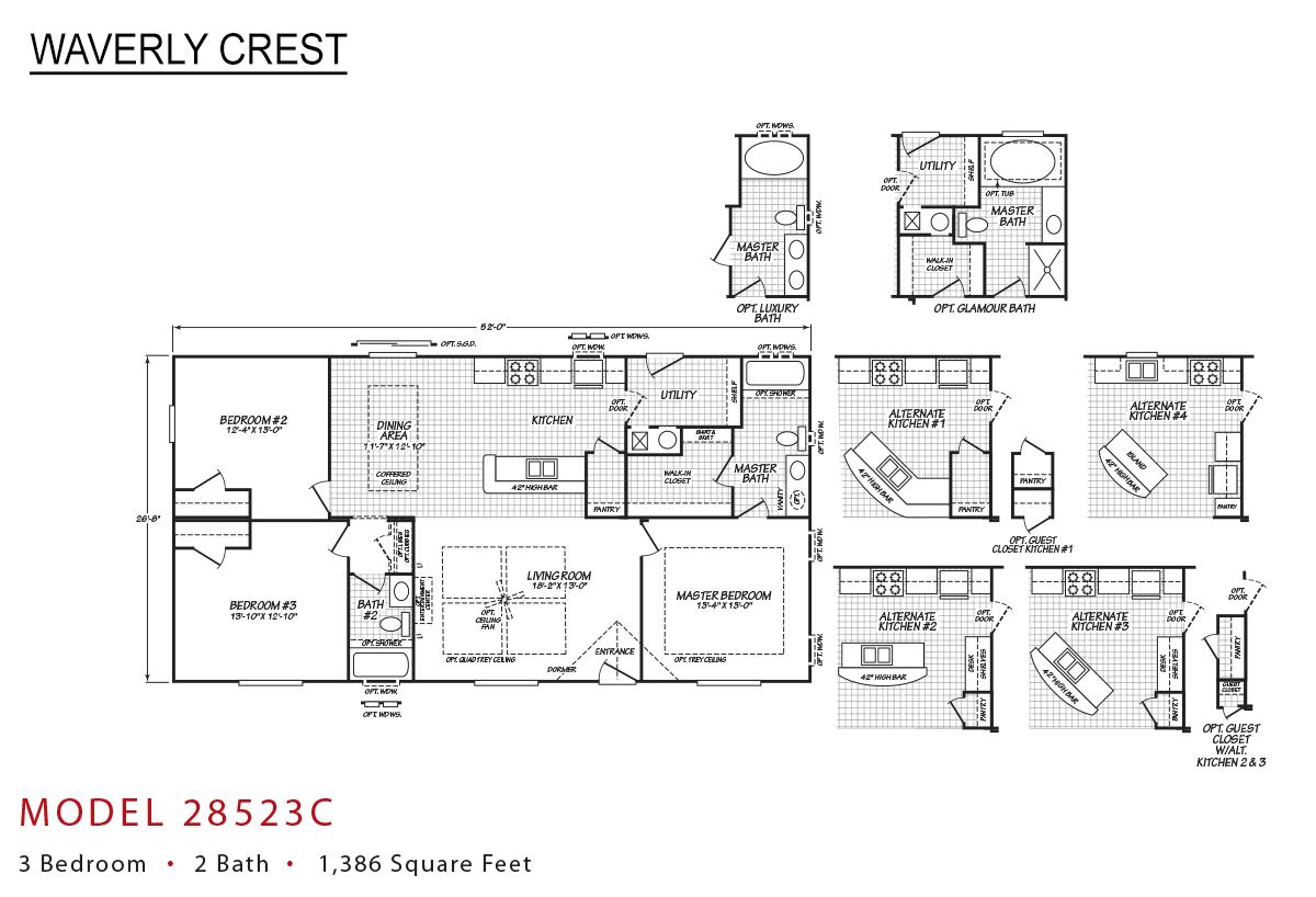 Waverly Crest - 28523C
