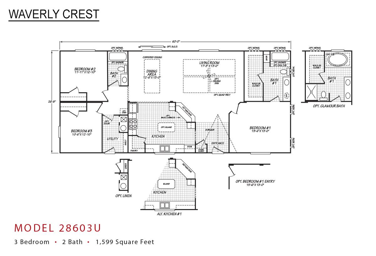 Waverly Crest 28603U Layout