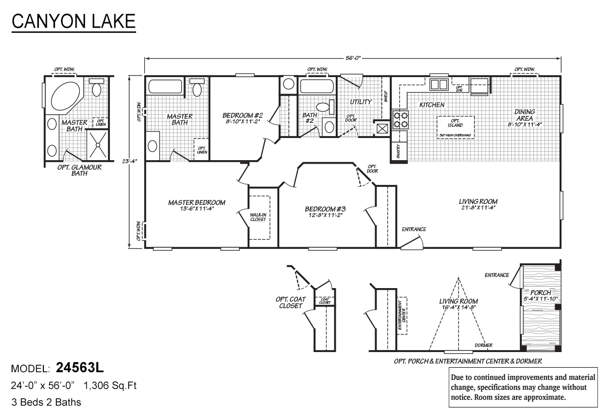 Canyon Lake 24563L Layout