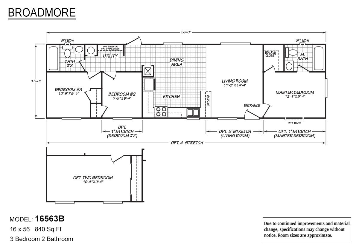 Broadmore 16563B Layout
