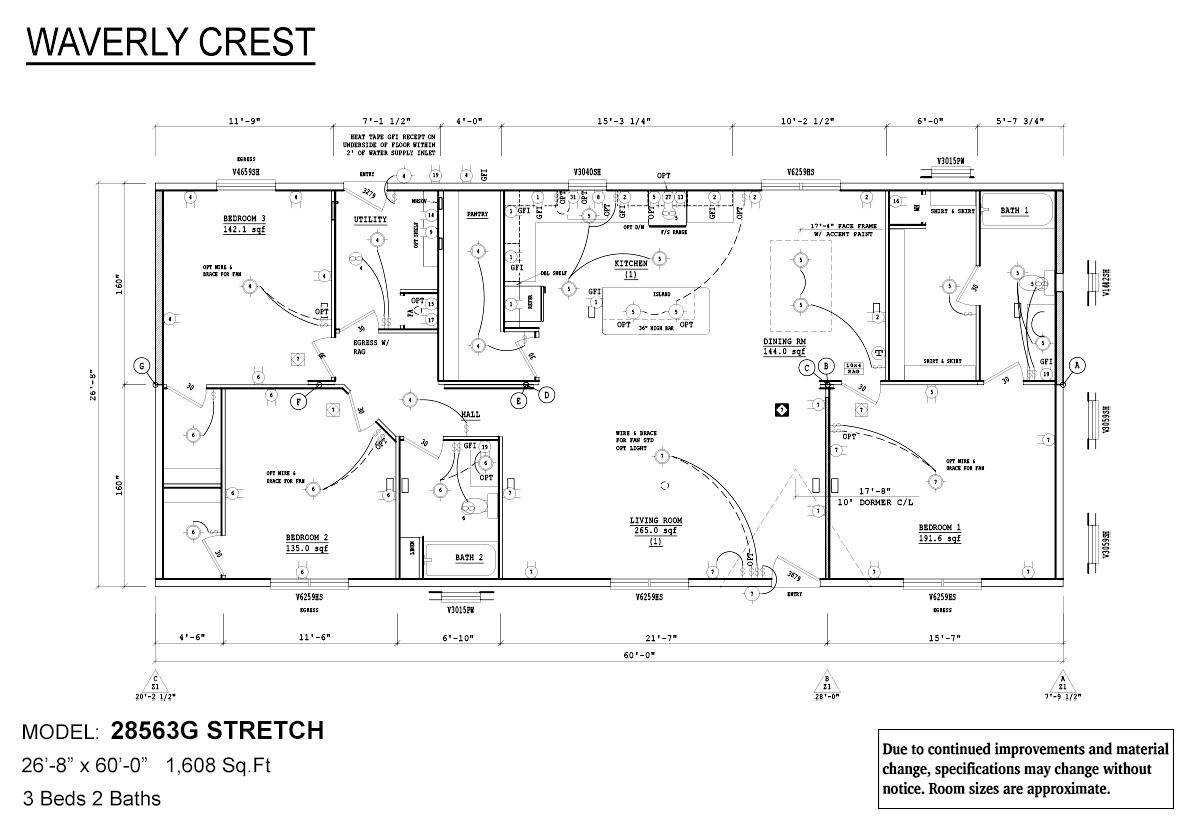 Waverly Crest - 28563G Stretch
