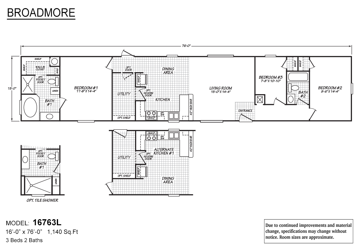 Broadmore 16763L Layout