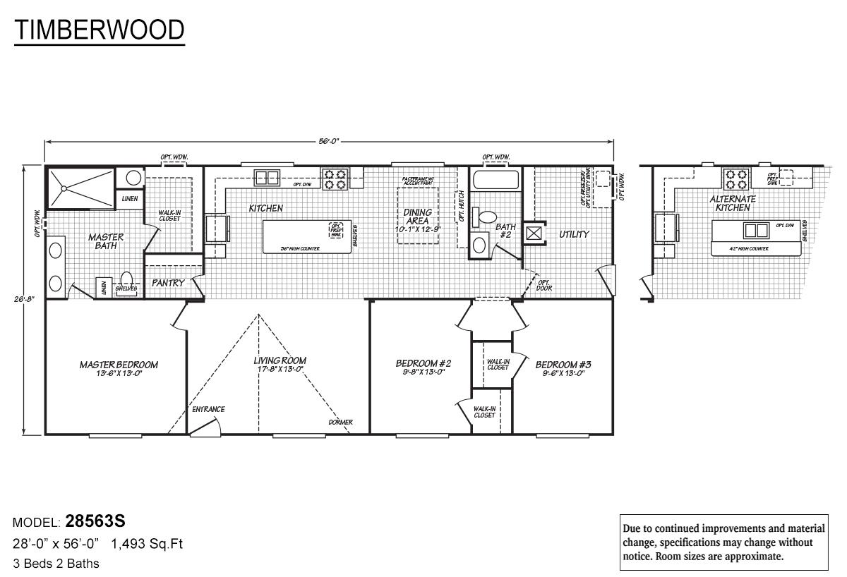 Timberwood - 28563S