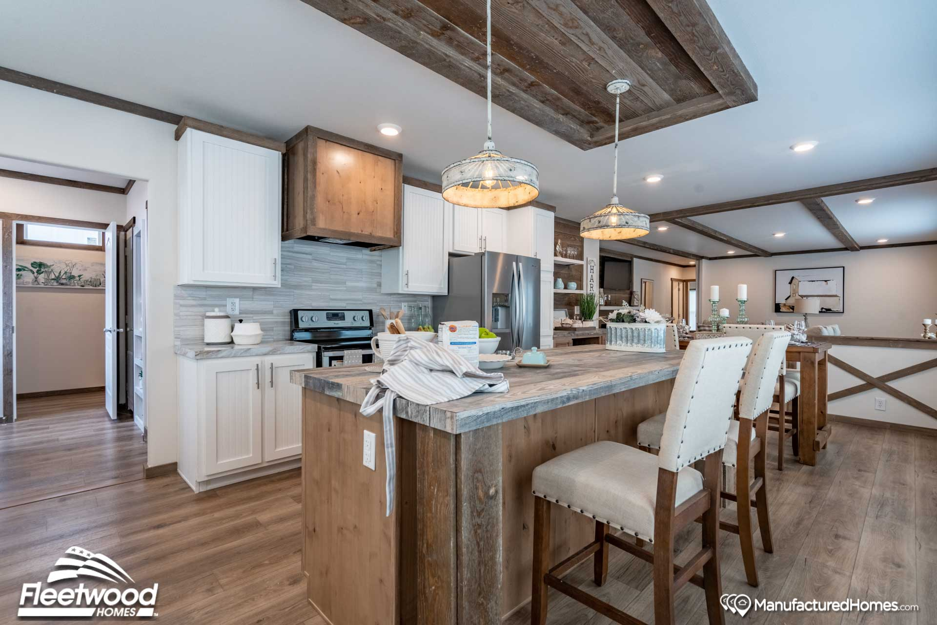 Waverly Crest Prestige 30603f The Clover By Fleetwood Homes Nampa Modularhomes Com