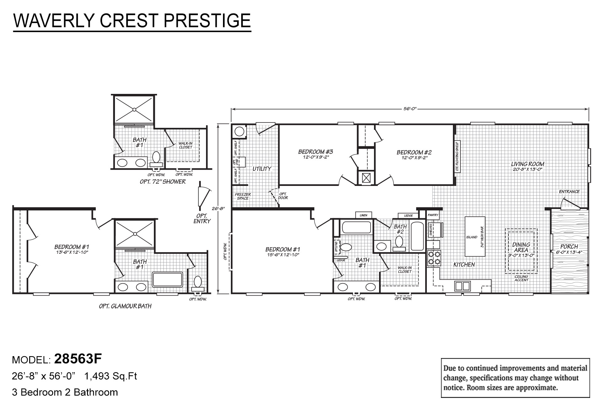 Waverly Crest Prestige - 28563F The South Fork
