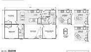 Waverly Crest 28483W (Alt Kitchen #3) Layout