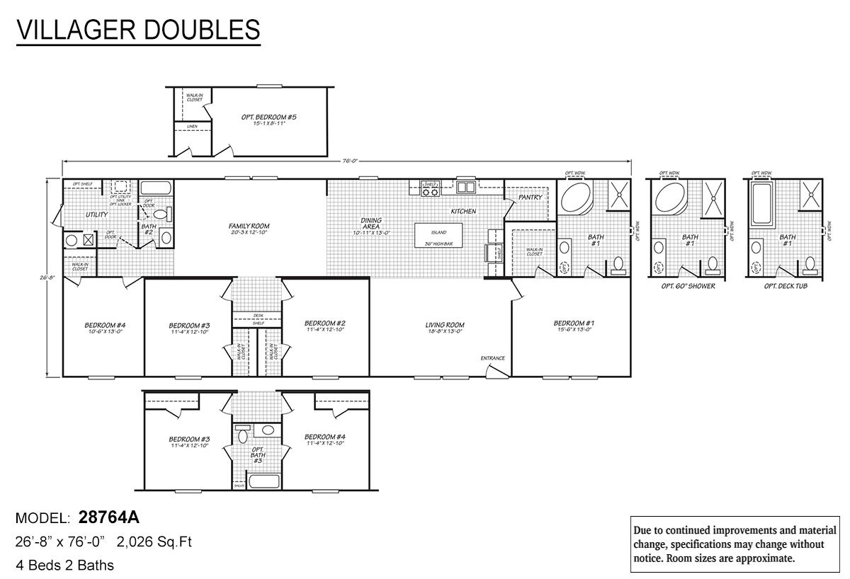 Villager Doubles - 28764A
