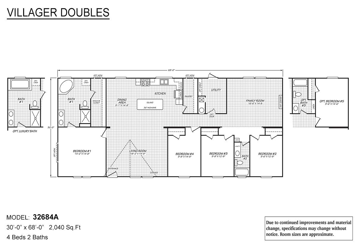 Villager Doubles - 32684A