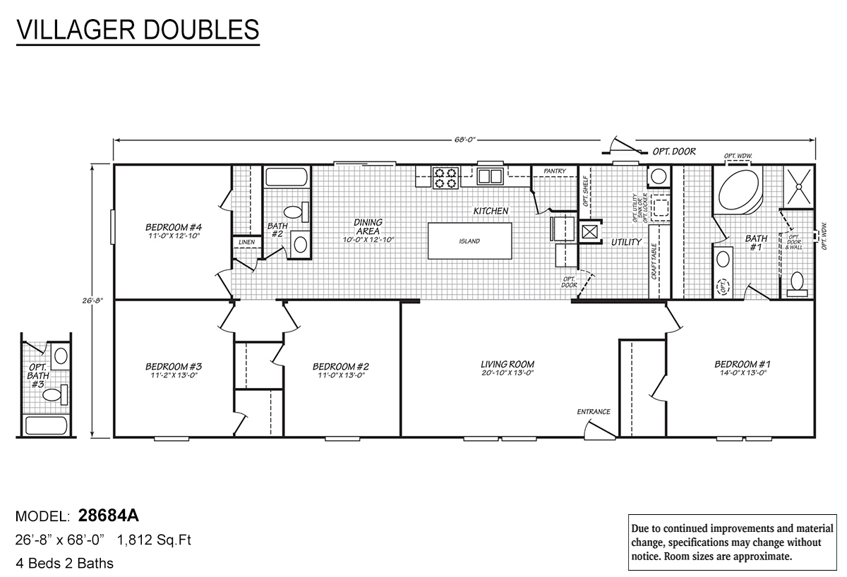 Villager Doubles - 28684A