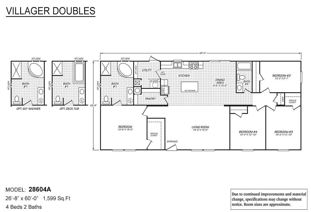 Villager Doubles - 28604A