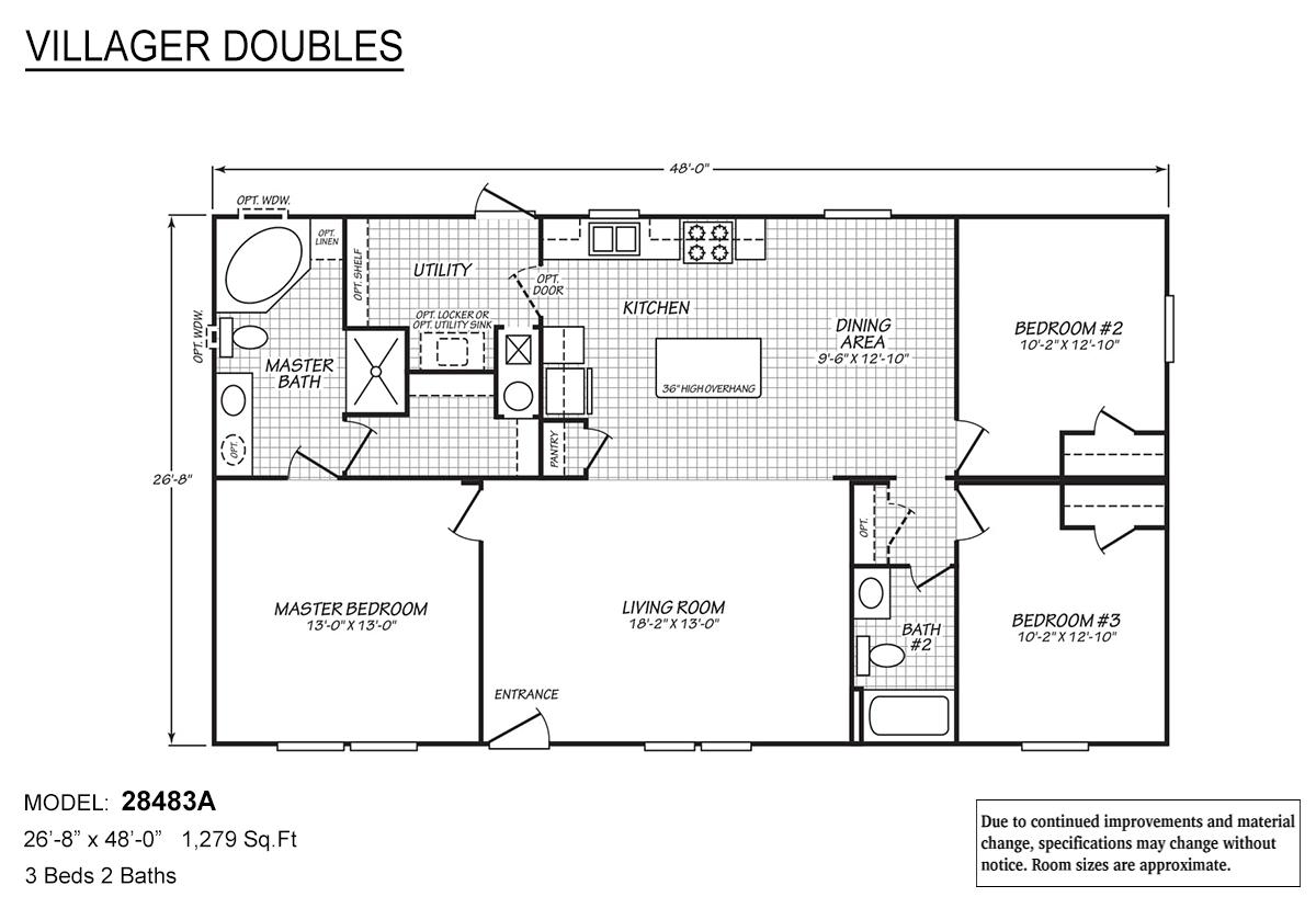 Villager Doubles - 28483A