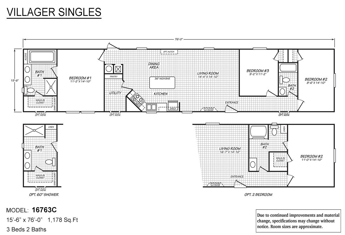 Villager Singles - 16763C